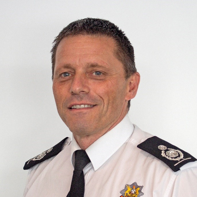 Newly appointed Deputy Chief Fire Officer Rick Roberts