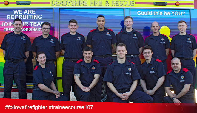 Wholetime Firefighter Trainees 2020