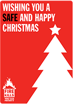 Cover image for Wishing you a safe and happy Christmas