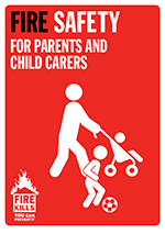Cover image for Fire safety for parents and child carers
