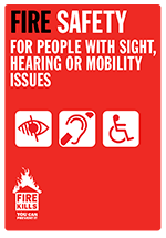 Cover image for Sight, hearing and mobility (Large print)