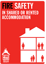 Cover image for Fire safety in shared or rented accommodation