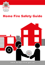 Cover image for Home fire safety guide (Pictorial)