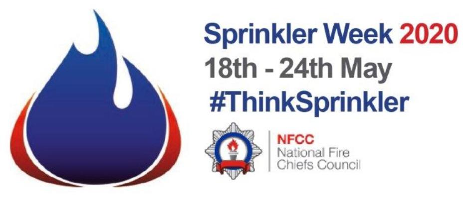 Sprinkler. Awareness Week