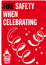 Cover image for Fire safety when celebrating