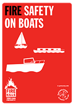 Cover image for Fire safety on boats