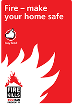 Cover image for Make your home safe (Easy read)