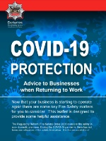 Cover image for NFCC Protection   COVID 19 Protection Advice to Businesses 2020